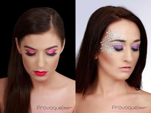 sesja zdjęciowa kobieta z makijażem